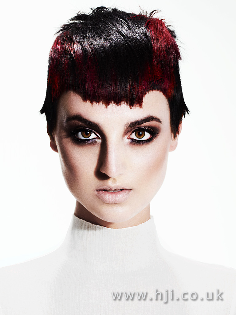 Suzie McGill and Dylan Brittain Scottish Hairdresser of the Year 2016 Collection Pic 4