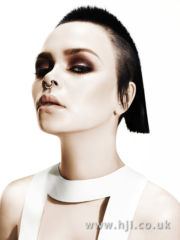 Suzie McGill and Dylan Brittain Scottish Hairdresser of the Year 2016 Collection Pic 5