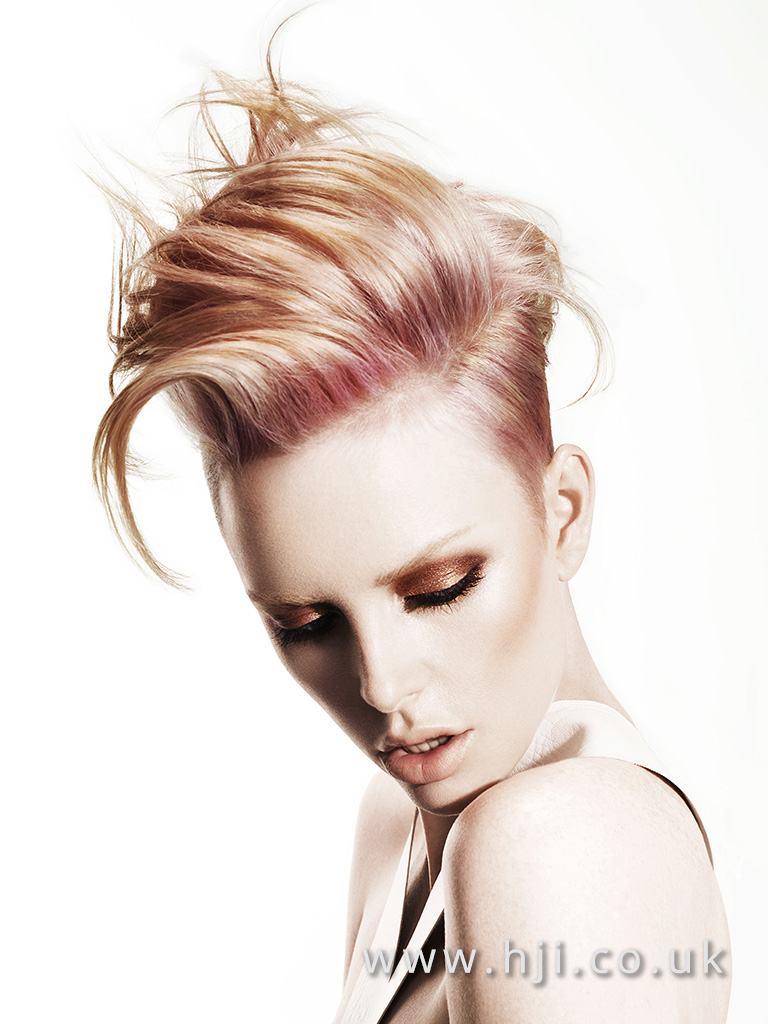 Suzie McGill and Dylan Brittain Scottish Hairdresser of the Year 2016 Collection Pic 6