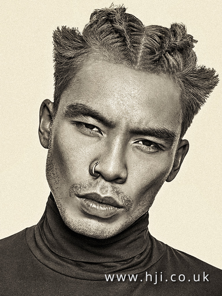 Men's Hairdresser of the Year Finalist Collection