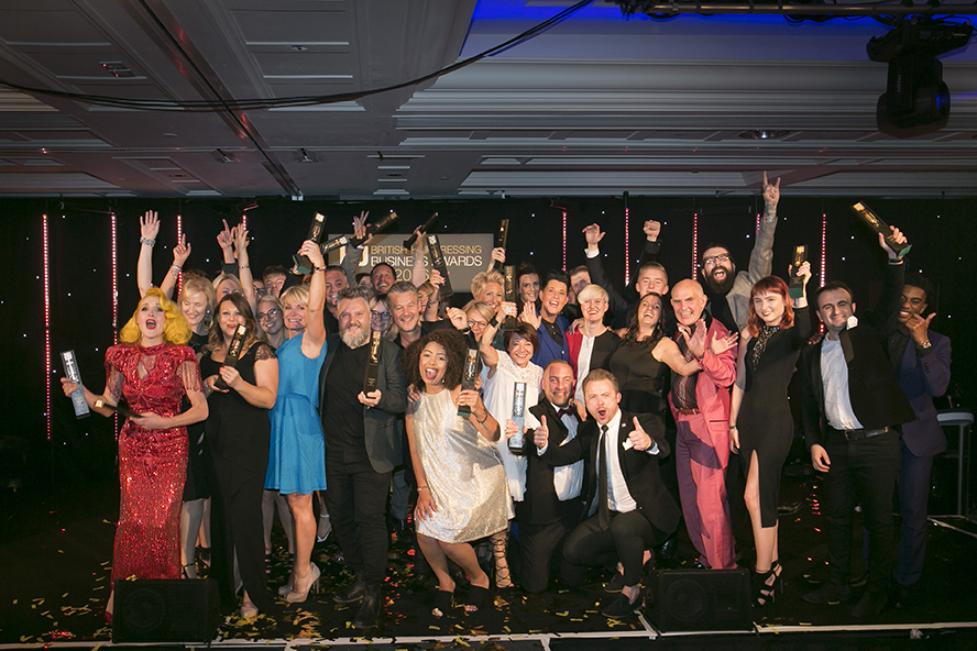 British hairdressing Business Awards Winners