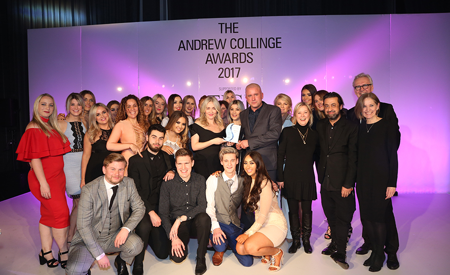 Andrew Collinge Salon Team of the Year - Castle Street