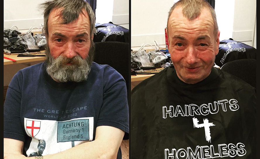 Haircuts For Homeless Charity Needs You Hji