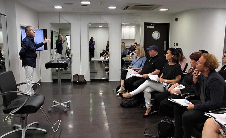 Clive Collins, HOB Salons