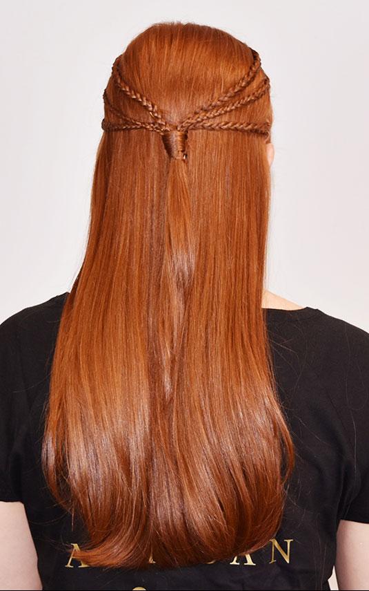 Game of thrones Sansa get the look triple braid