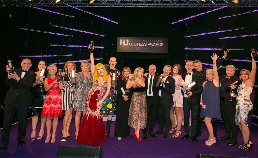 Britsh Hairdressing Business Awards Winners 2017
