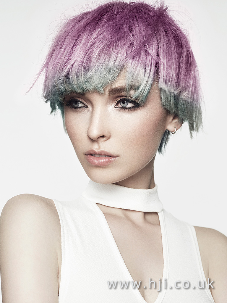 Royston Blythe and Charles Douek Midlands Hairdresser of the Year Finalist Collection