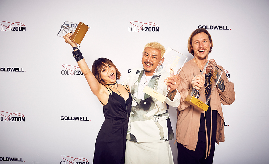 Goldwell Global Zoom winner 2017