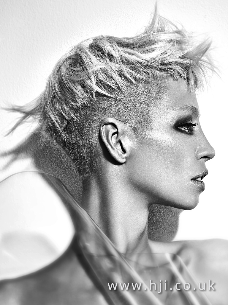 Lewis Moore Midlands Hairdresser of the Year Finalist Collection