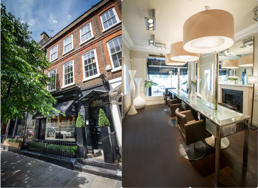 Charles Worthington salons London
