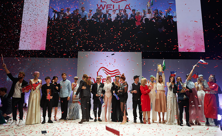 Wella international trendvision wows at salon for Salon international