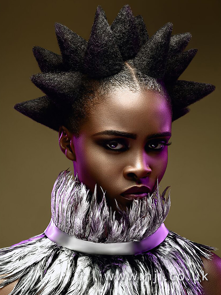 Lathaniel Chambers Afro Hairdresser of the Year Finalist Collection