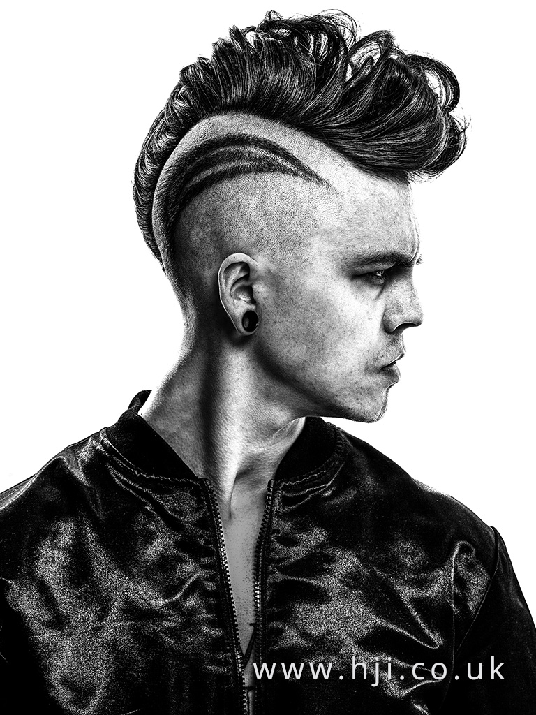 Ross Charles Men's Hairdresser of the Year Finalist Collection