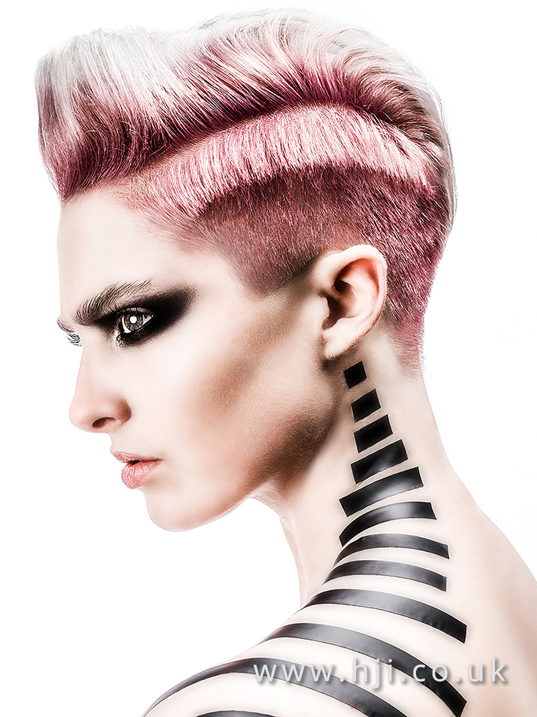 Sarah Cotton North Eastern Hairdresser of the Year Finalist Collection