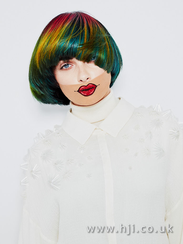Grace Dalgliesh Newcomer Hairdresser of the Year Finalist Collection