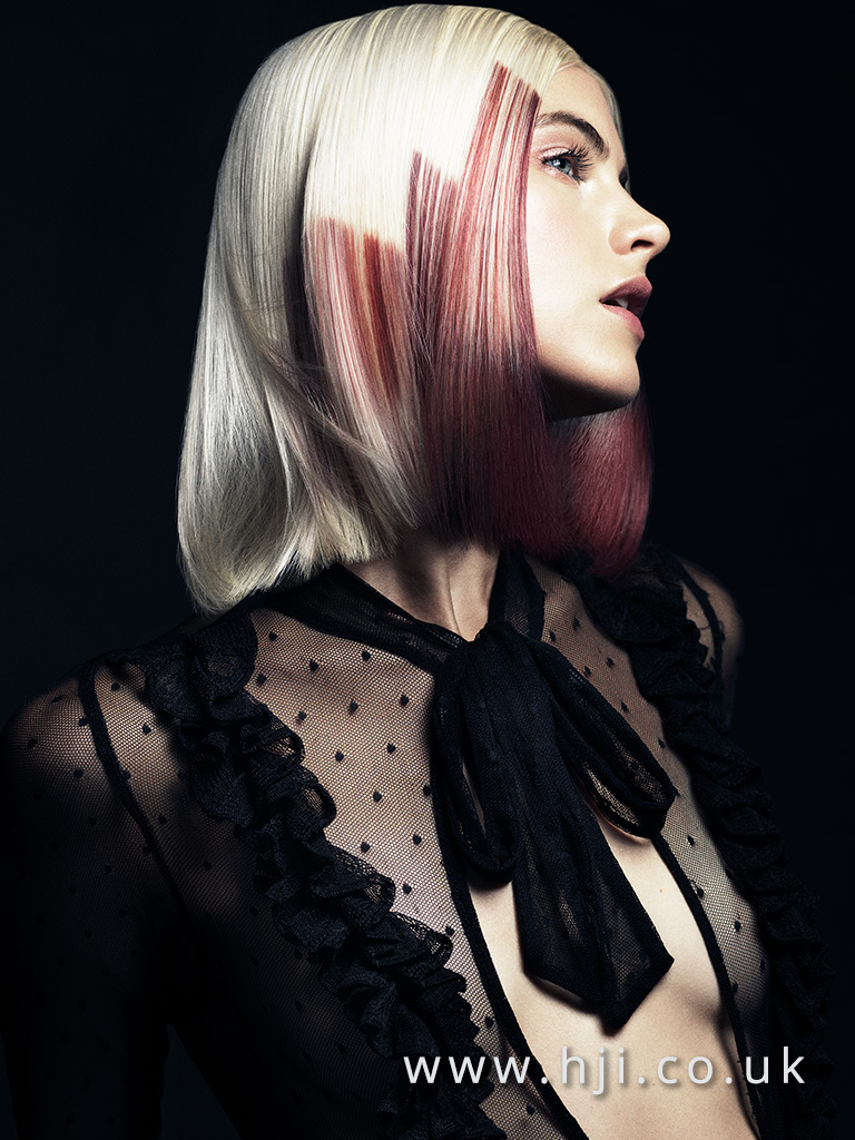 Paul Dennison Schwarzkopf Professional Colour Technician of the Year Finalist Collection