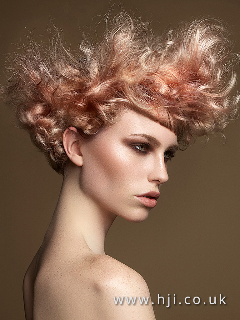 Isobel Eaton North Eastern Hairdresser of the Year 2017 Colleciton Pic 4