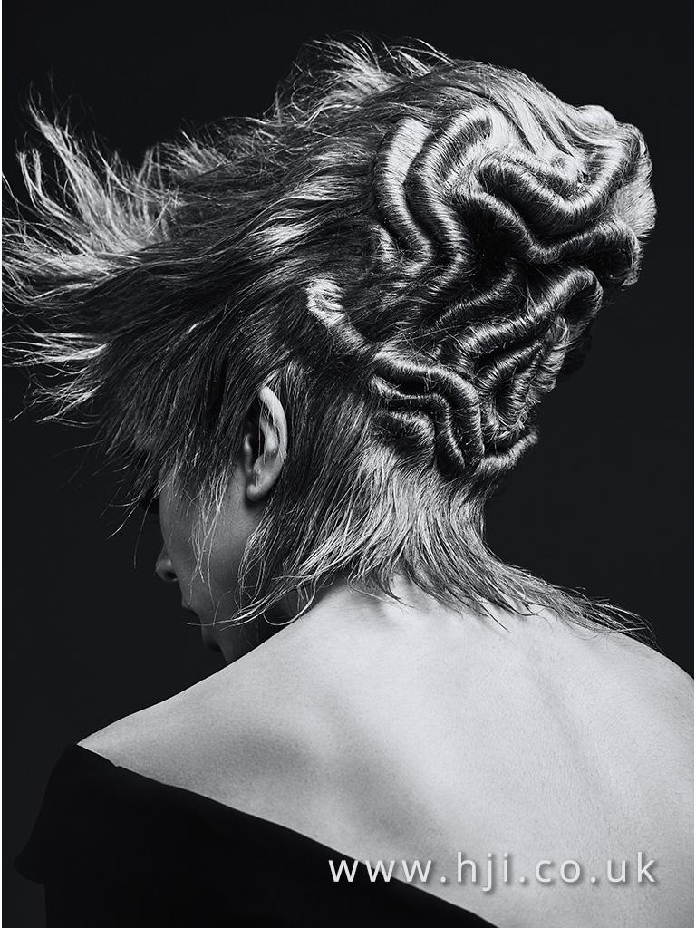 Emmanuel Estaban Avant Garde Hairdresser of the Year 2017 Collection pic 2