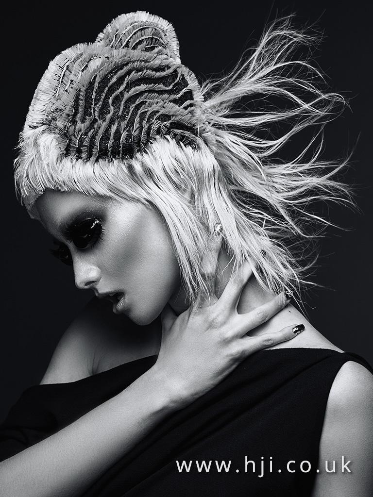 Emmanuel Estaban Avant Garde Hairdresser of the Year 2017 Collection pic 3