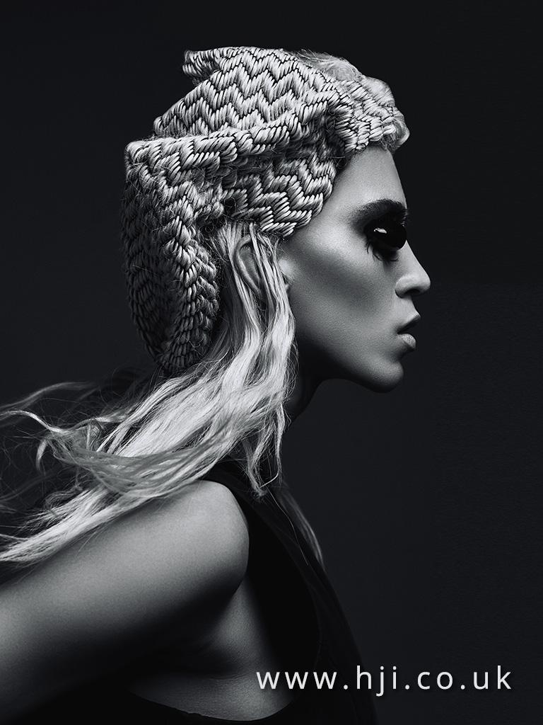 Emmanuel Estaban Avant Garde Hairdresser of the Year 2017 Collection pic 4