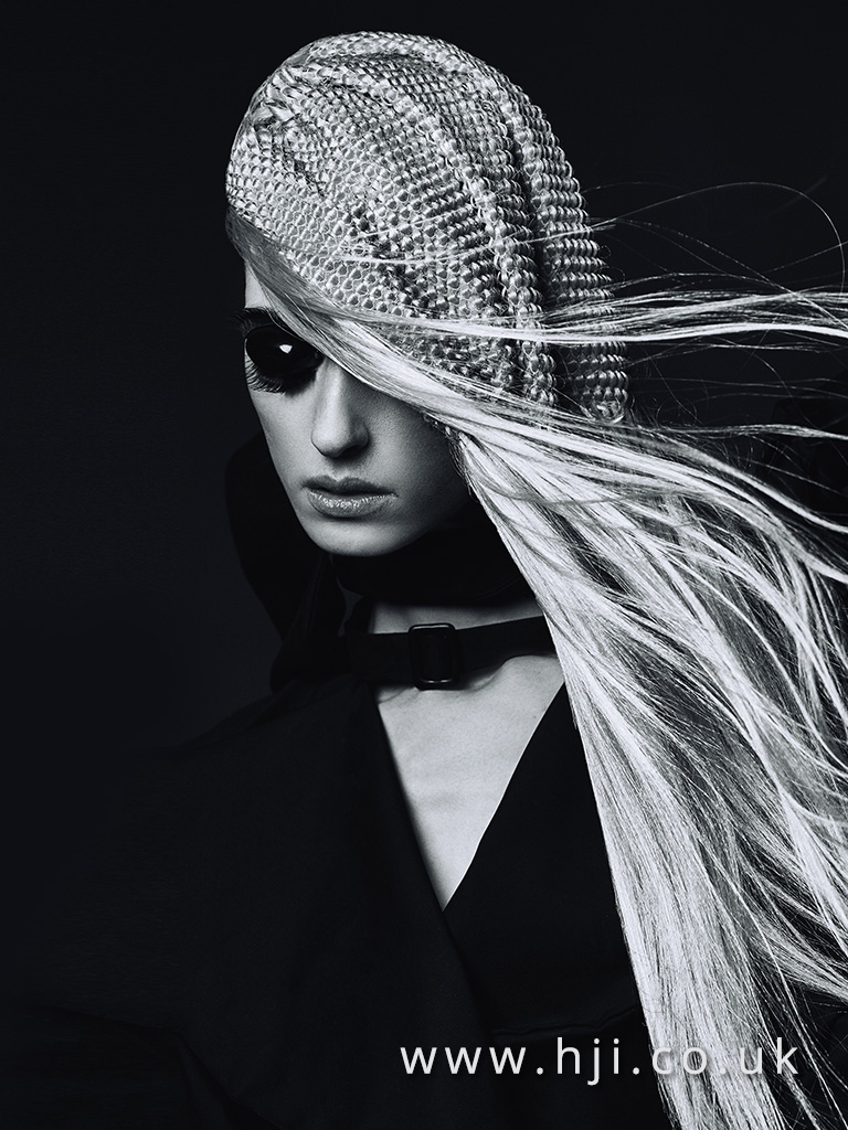 Emmanuel Estaban Avant Garde Hairdresser of the Year 2017 Collection pic 5