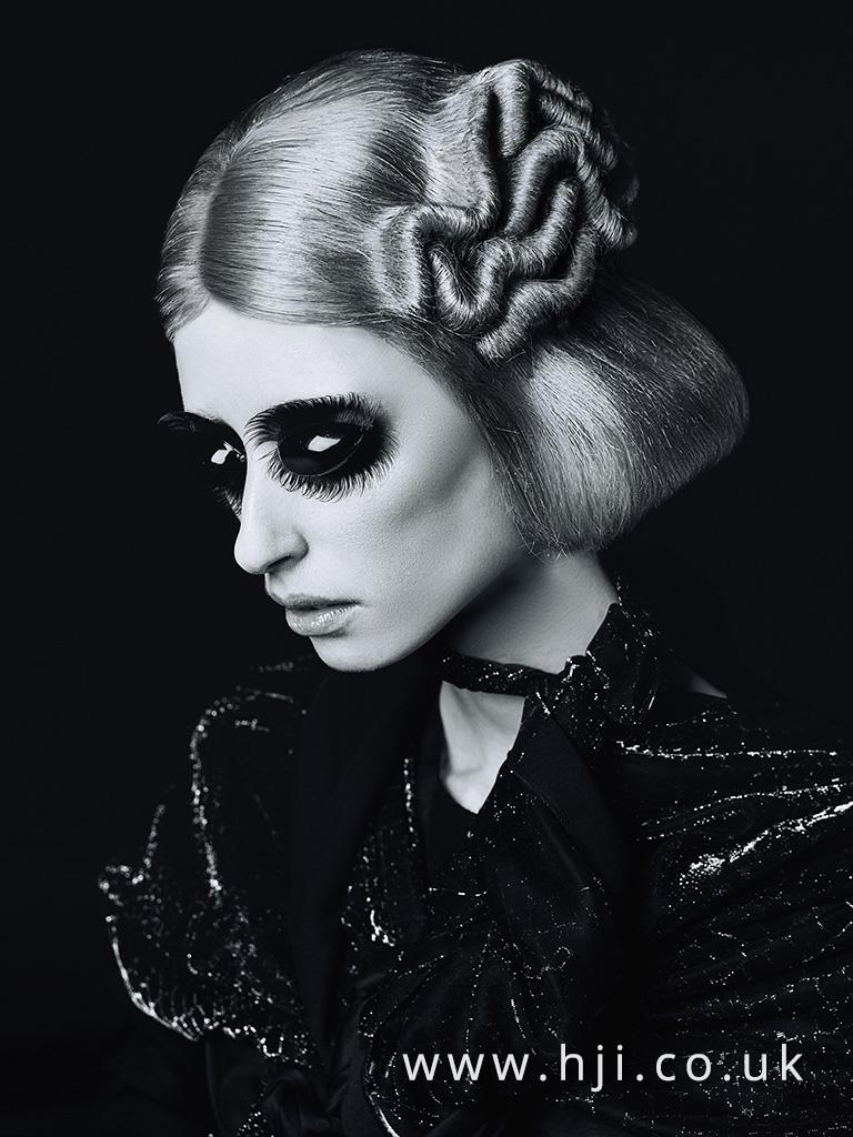 Emmanuel Estaban Avant Garde Hairdresser of the Year 2017 Collection pic 7