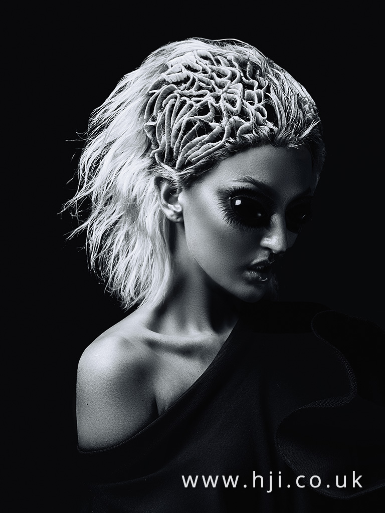 Emmanuel Esteban Anne Veck Avant Garde Hairdresser of the Year Finalist Collection