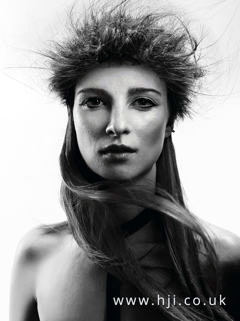 Brooke Evans Newcomer Hairdresser of the Year Finalist Collection