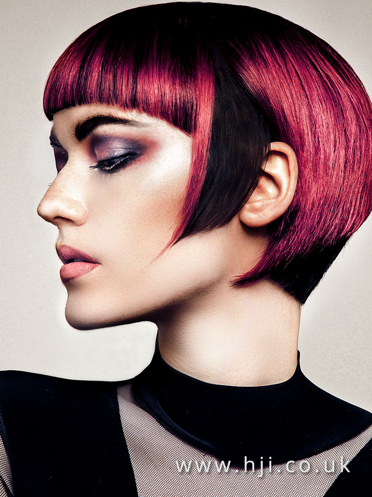 Jason Hall Scottish Hairdresser of the Year Finalist Collection