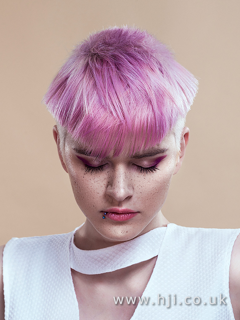 Damian Johnston Northern Ireland Hairdresser of the Year Finalist Collection