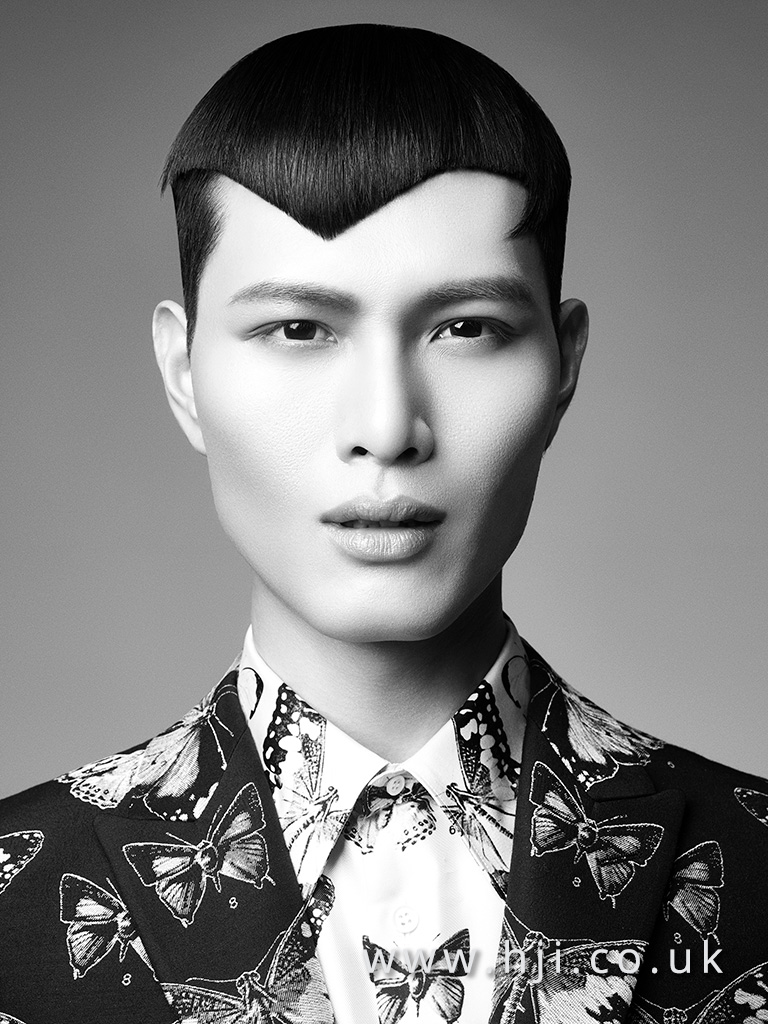 Terri Kay and Andrea Giles Men's Hairdresser of the Year Collection pic 2