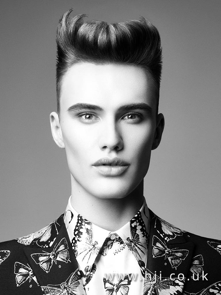 Terri Kay and Andrea Giles Men's Hairdresser of the Year Collection pic 4