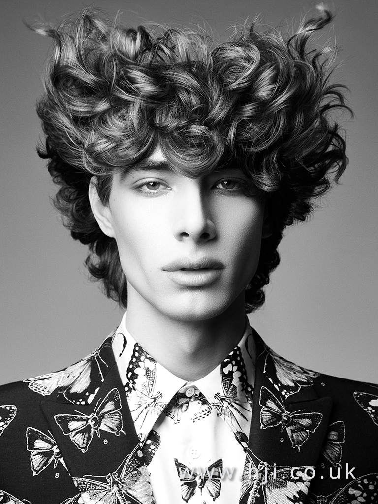 Terri Kay and Andrea Giles Men's Hairdresser of the Year Collection pic 5