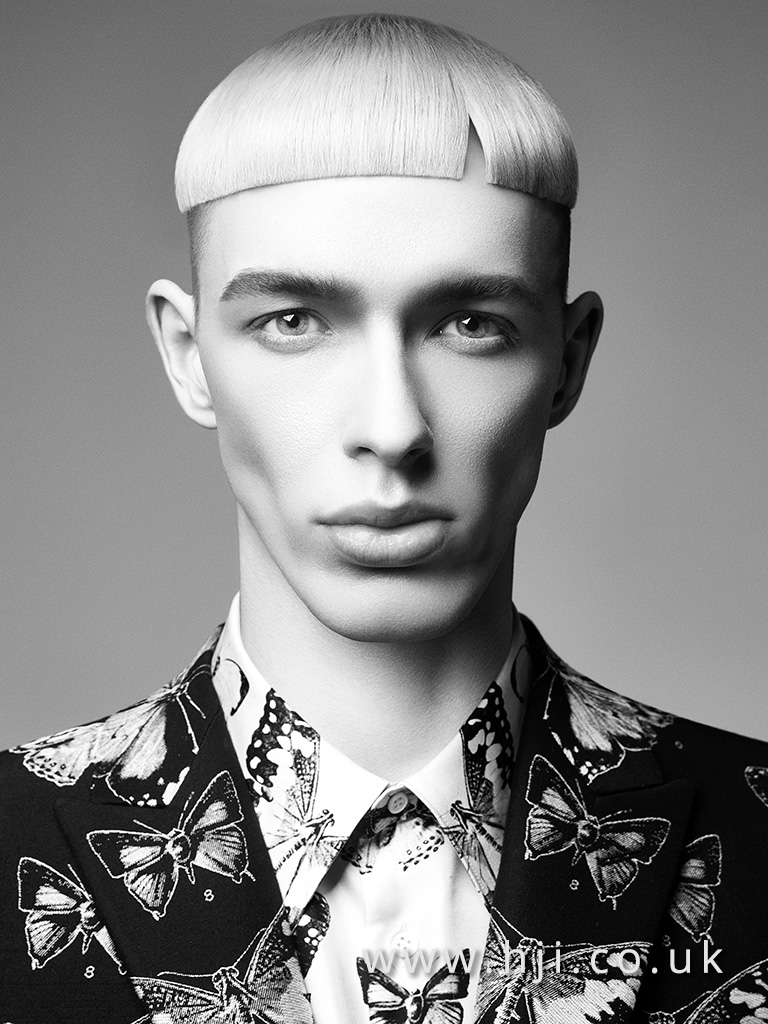 Terri Kay and Andrea Giles Men's Hairdresser of the Year Collection pic  8