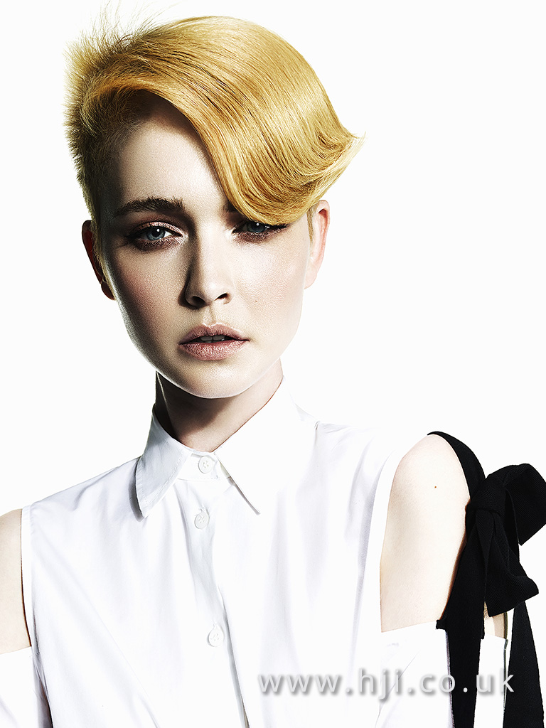Suzie McGill and Dylan Brittain Scottish Hairdresser of the Year 2017 Collection Pic 2
