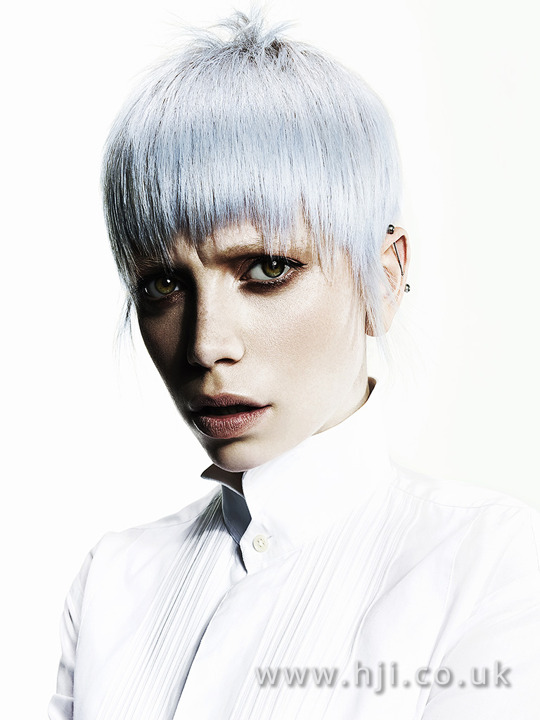 Suzie McGill and Dylan Brittain Scottish Hairdresser of the Year 2017 Collection Pic 3