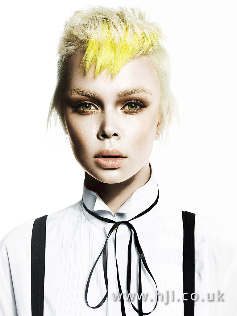 Suzie McGill and Dylan Brittain Scottish Hairdresser of the Year 2017 Collection Pic 5