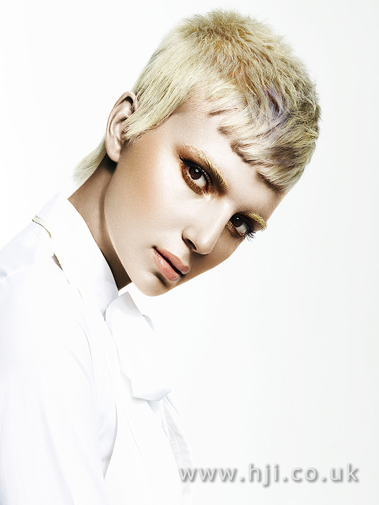 Suzie McGill and Dylan Brittain Scottish Hairdresser of the Year 2017 Collection Pic 6