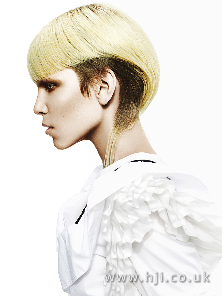 Suzie McGill and Dylan Brittain Scottish Hairdresser of the Year 2017 Collection Pic 7