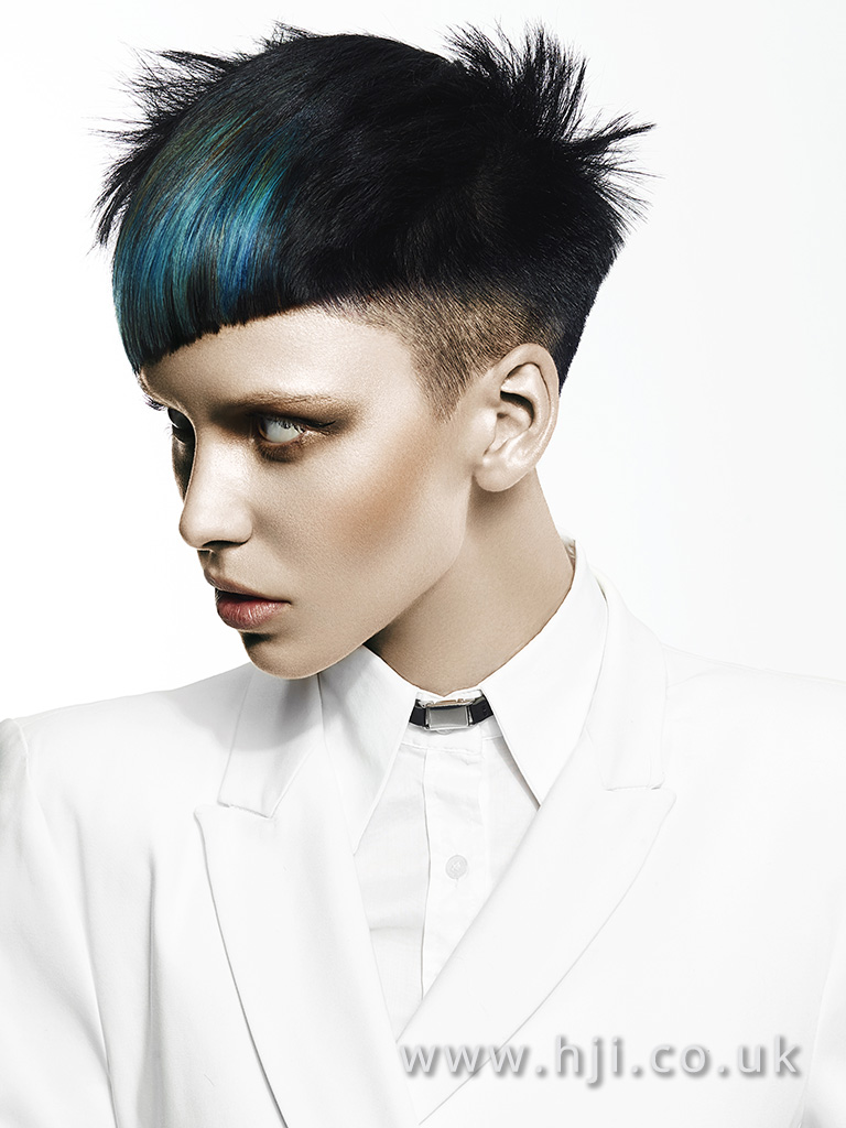 Suzie McGill and Dylan Brittain Scottish Hairdresser of the Year 2017 Collection Pic 8