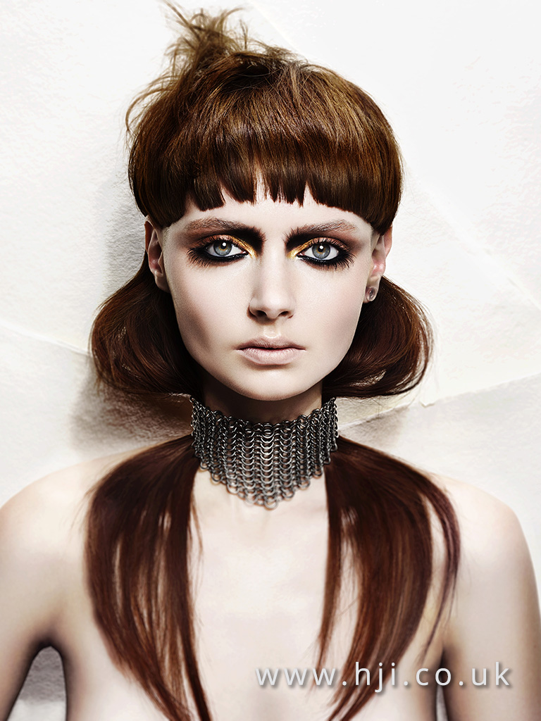 Andrew Mulvenna Northern Ireland Hairdresser of the Year Finalist Collection
