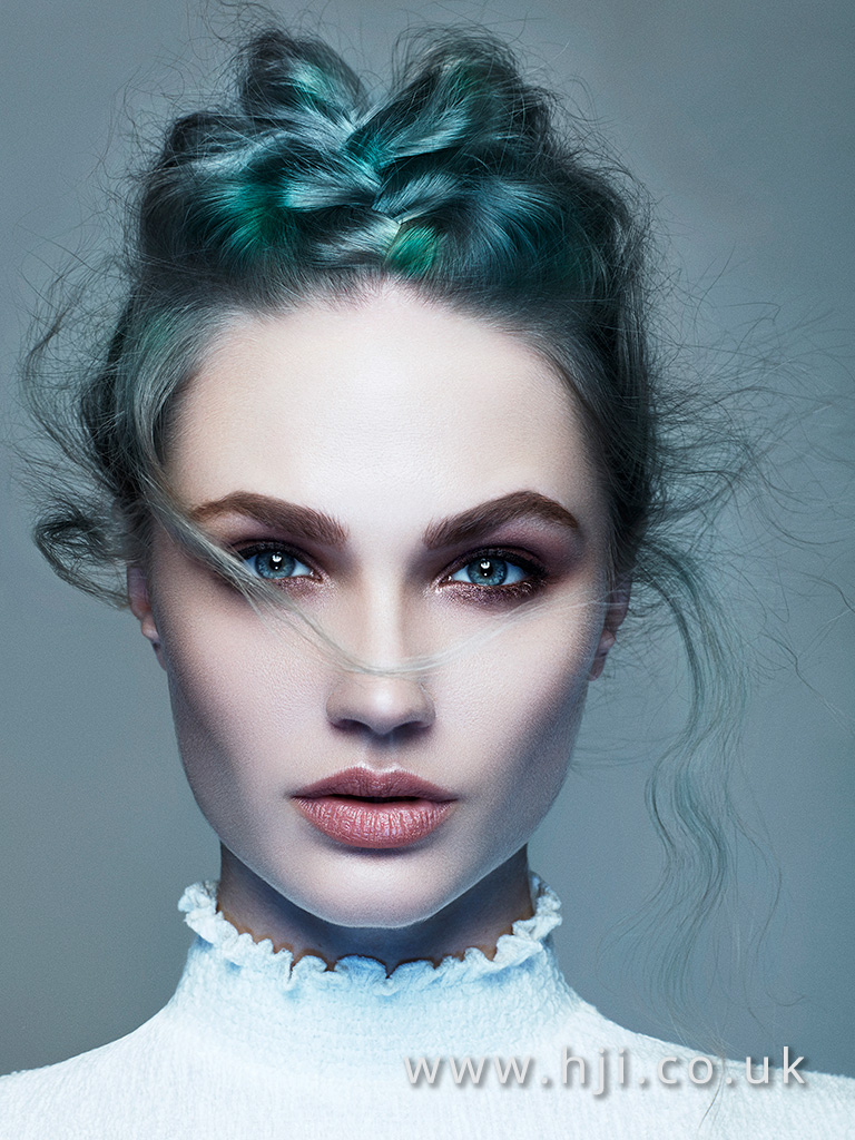 Olivia Neville Newcomer Hairdresser of the Year Finalist Collection