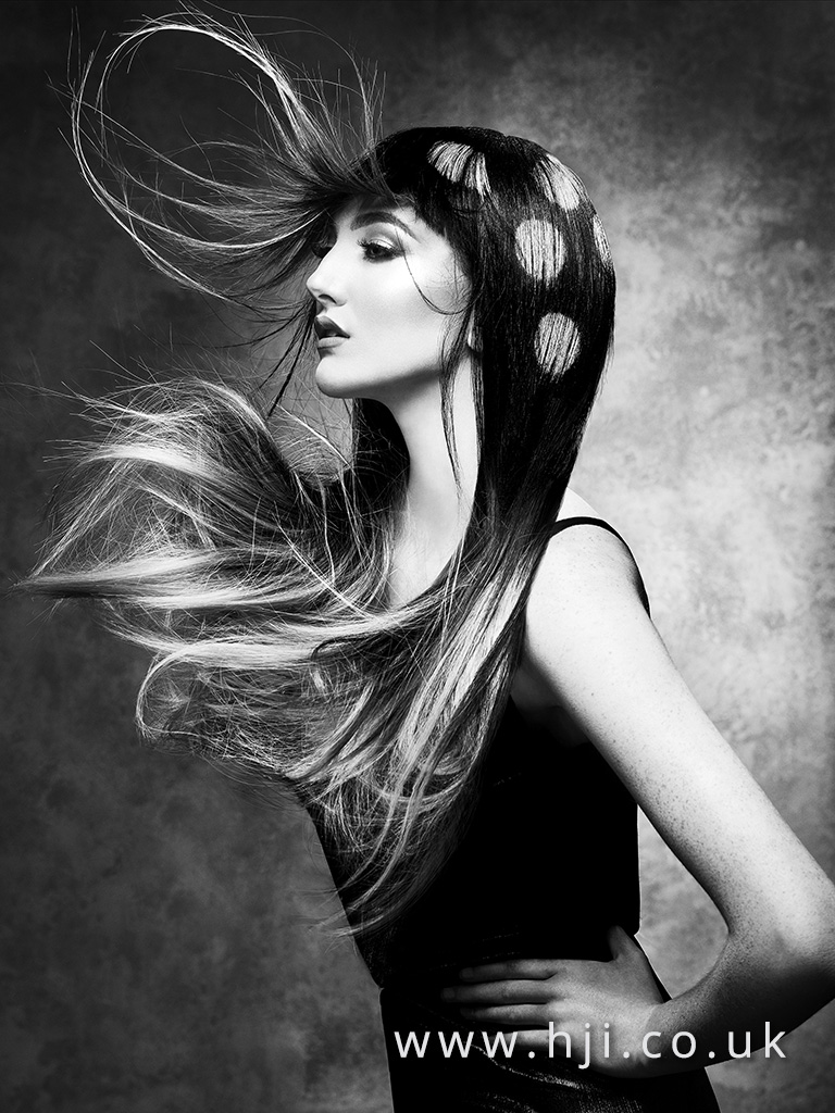 Michael Rackett Newcomer Hairdresser of the Year Finalist Collection