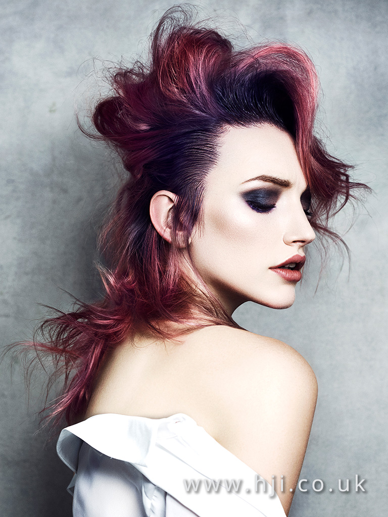 Daniel Spiller Southern Hairdresser of the Year Finalist Collection
