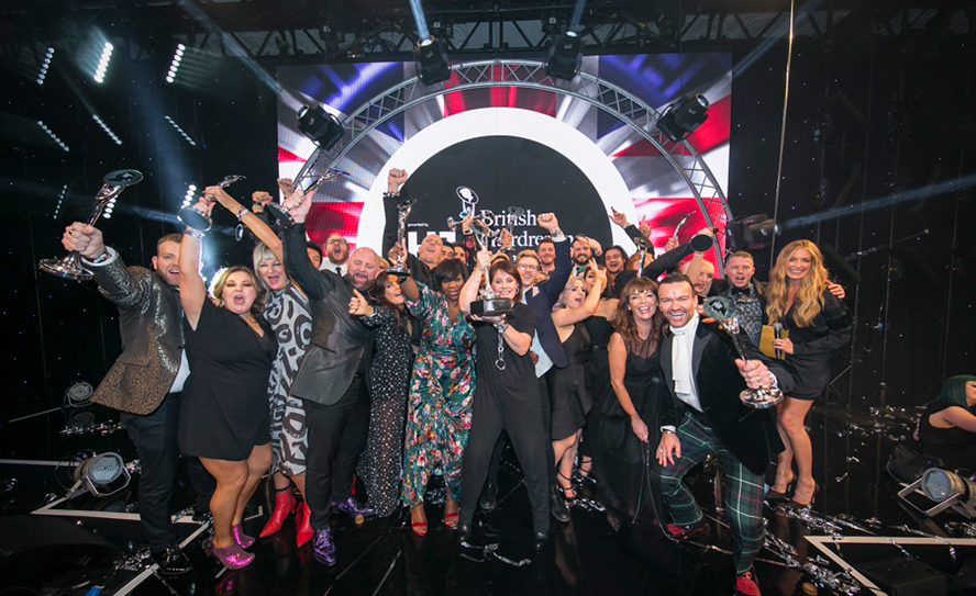 British Hairdressing Awards 2017 winners