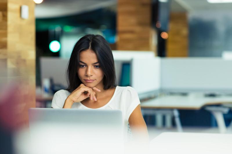 woman at computer 2