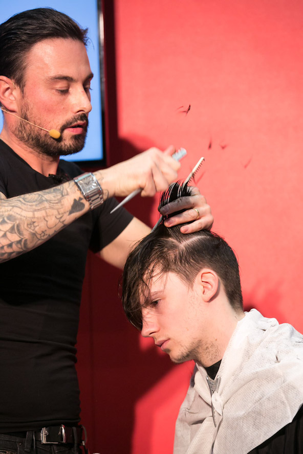 Watch Barber Ross Charles Take Hair From Long To Short In This How