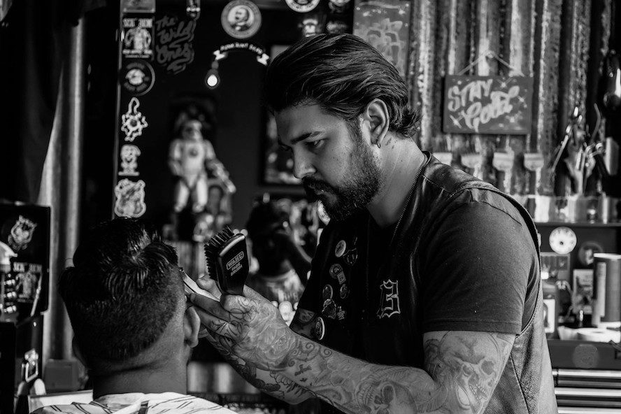 Wez Schorem Barbers UK ambassador