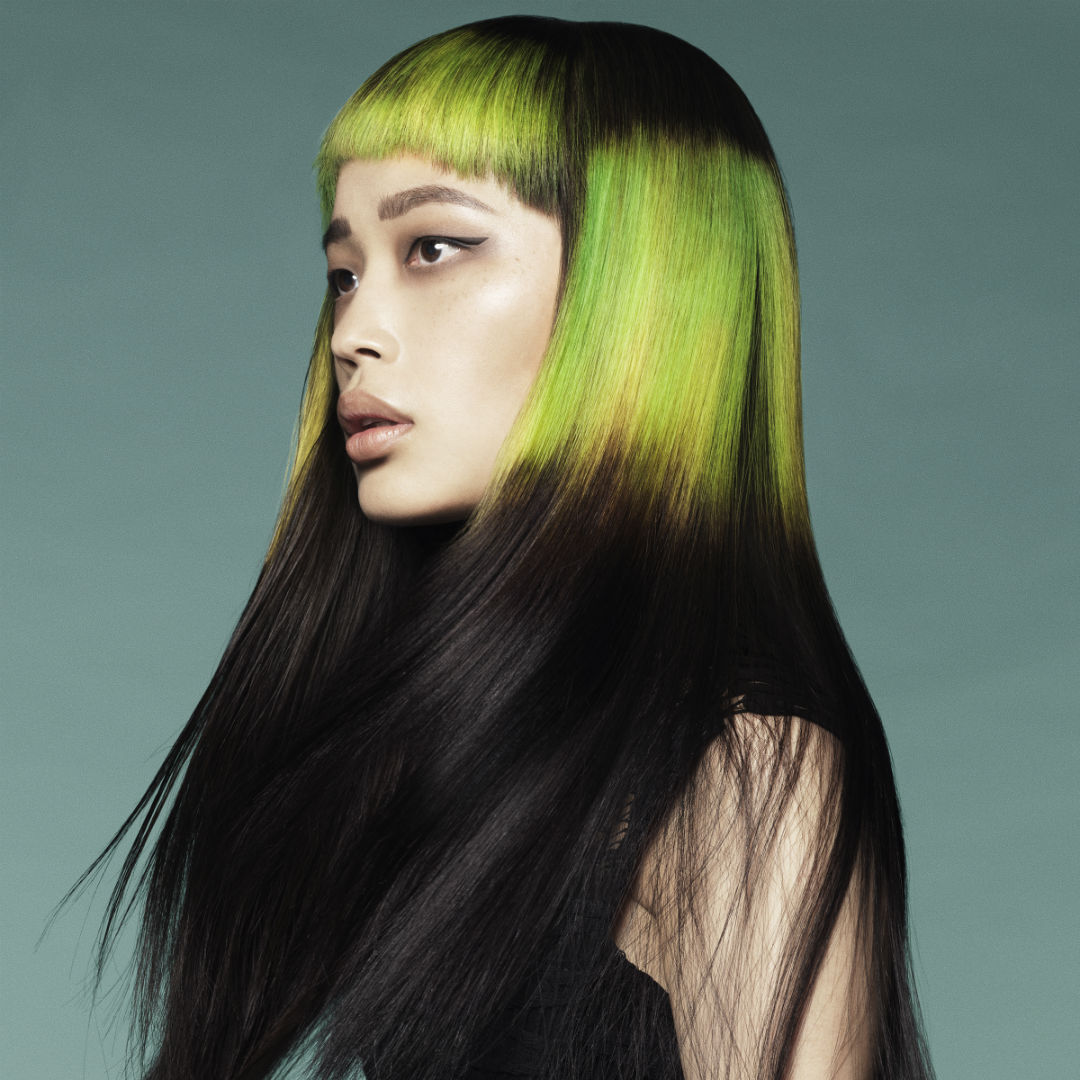 Organic Colour systems lime green