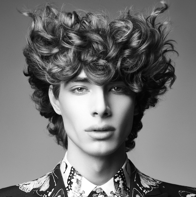 British hairdressing awards mens collection